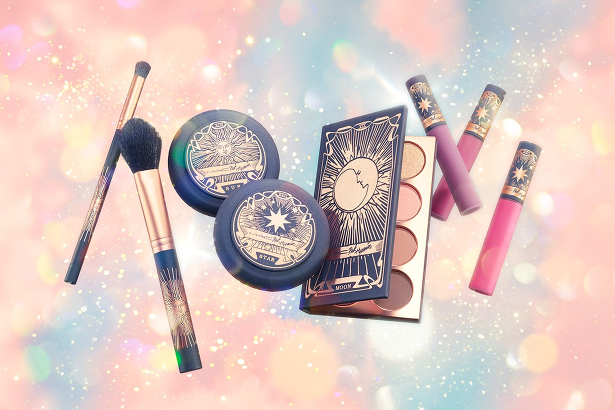 pony mac cosmetics collabration makeup tarot