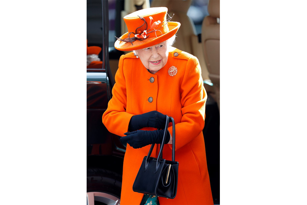queen elizabeth ii orange