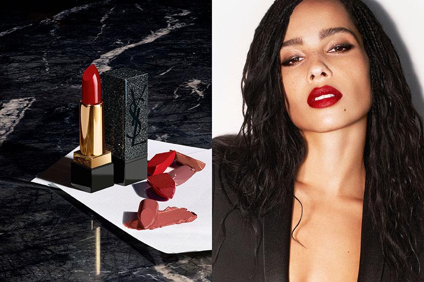 YSL Beauty x Zoe Kravitz Black Rouge Pur Couture Lipstick