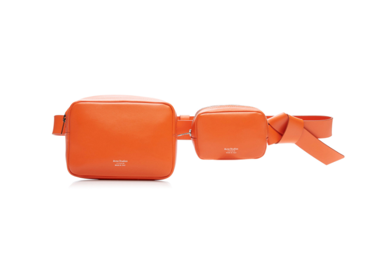 Acne Studios Musubi Knotted Leather Belt Bag