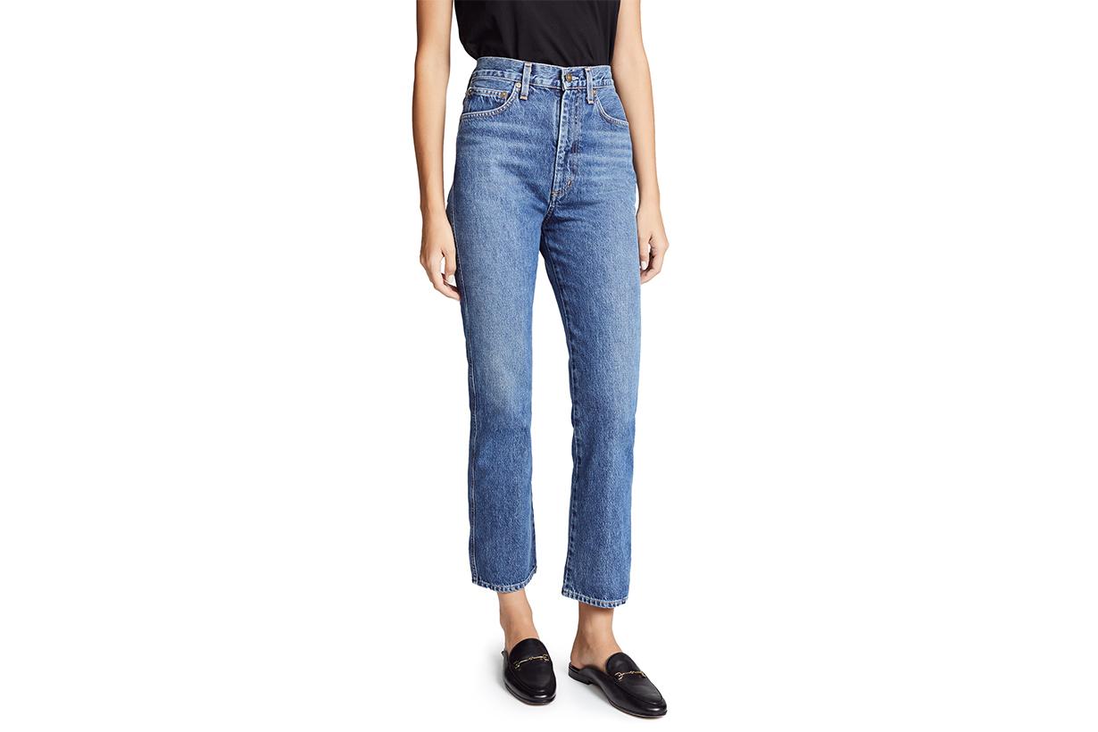 AGOLDE Pinch Waist High Rise Kick Jeans