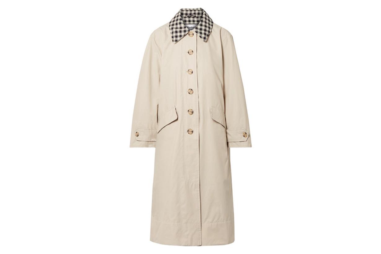 + ALEXACHUNG Glenda Cotton-Blend Coat