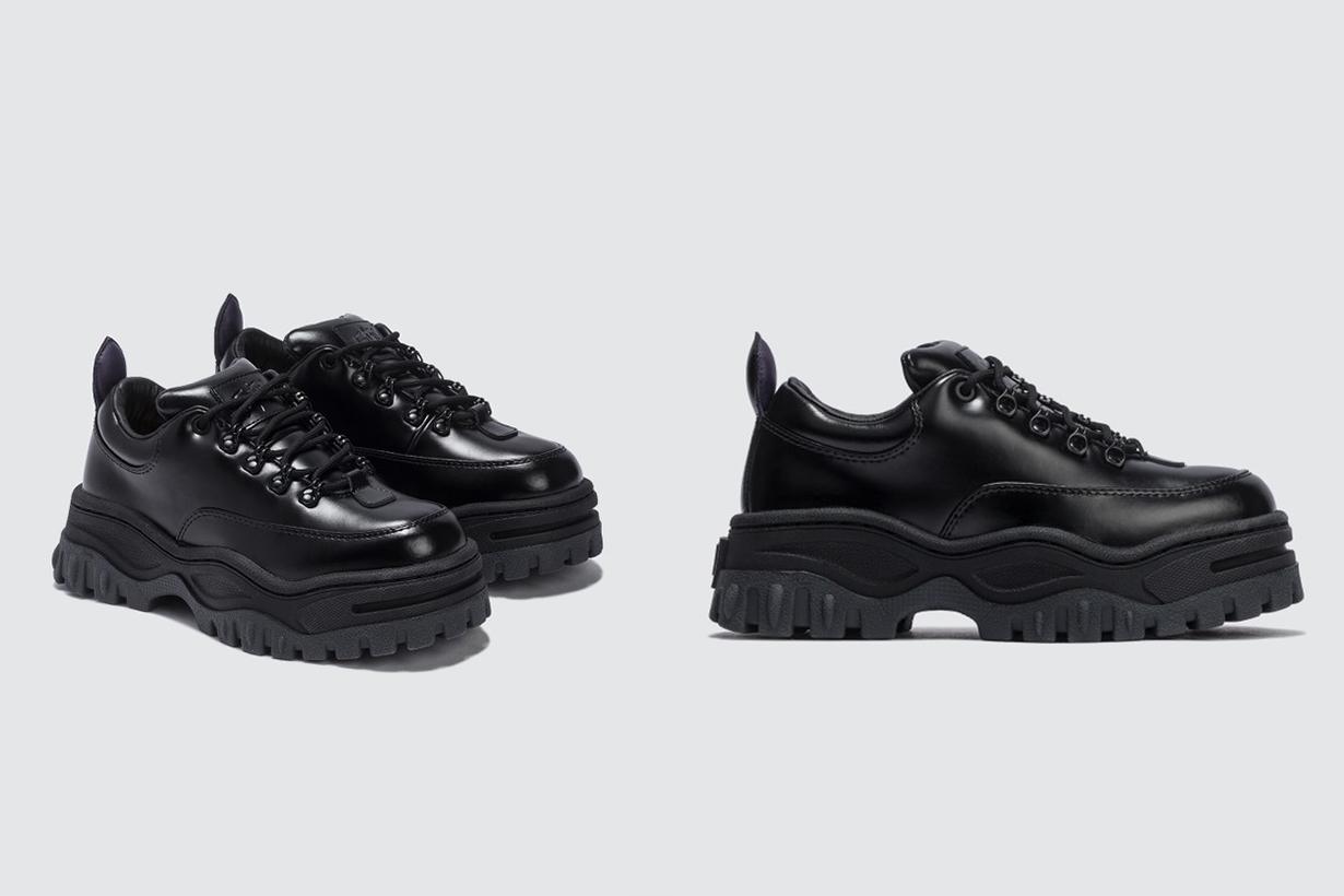 Angel Leather Sneaker