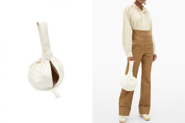 lemaire ball bag purse simple design