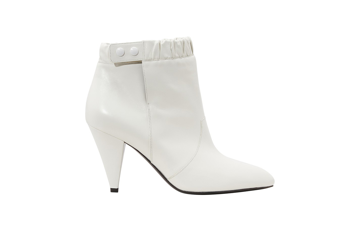 Celine Triangle heel elasticated boots