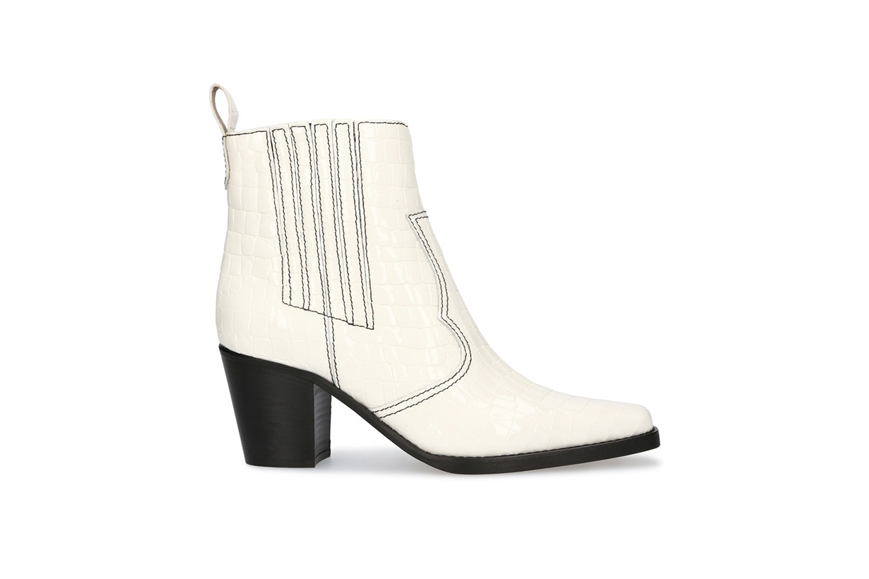 GANNI Western ankle boots