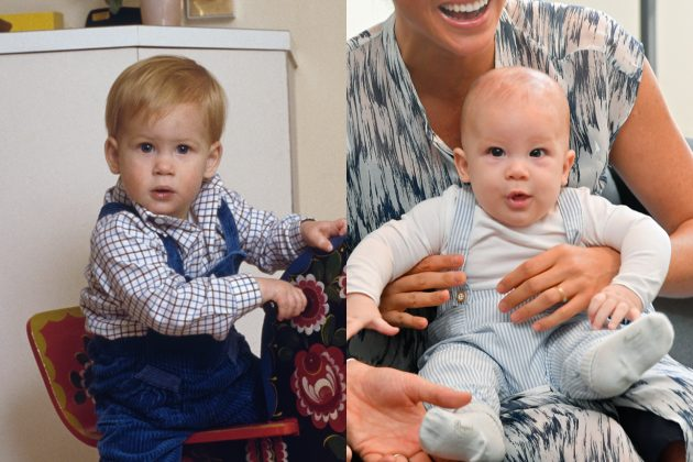 archie prince harry look alike photos