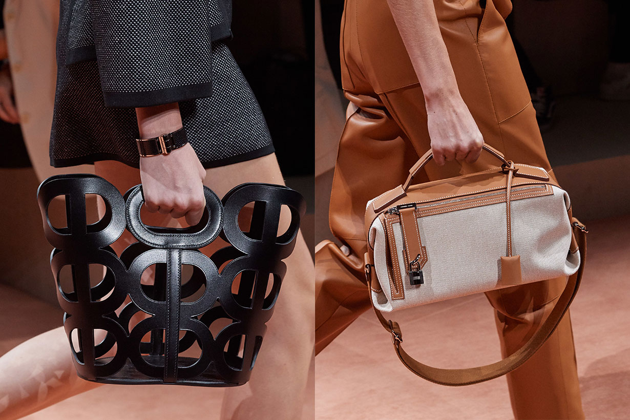 Hermes Leather Bag