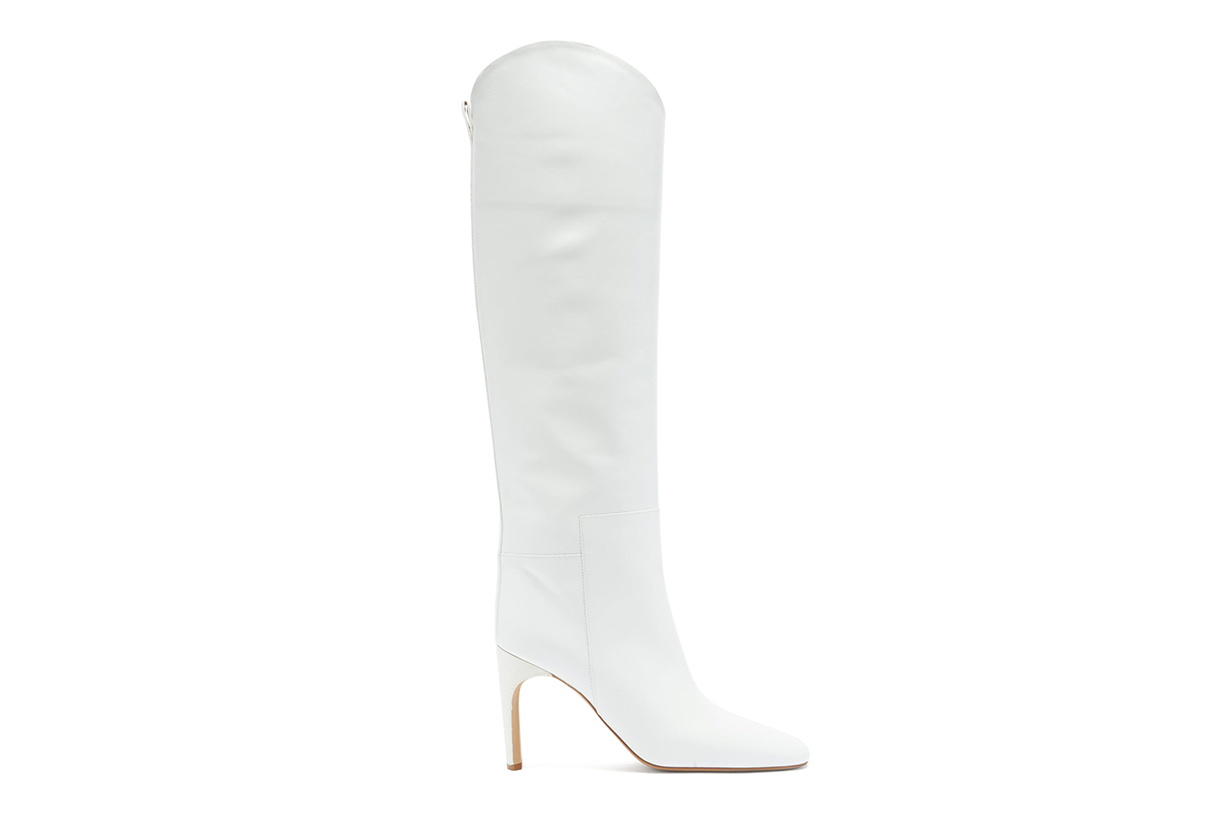 JIL SANDER Nappa-leather knee-high boots