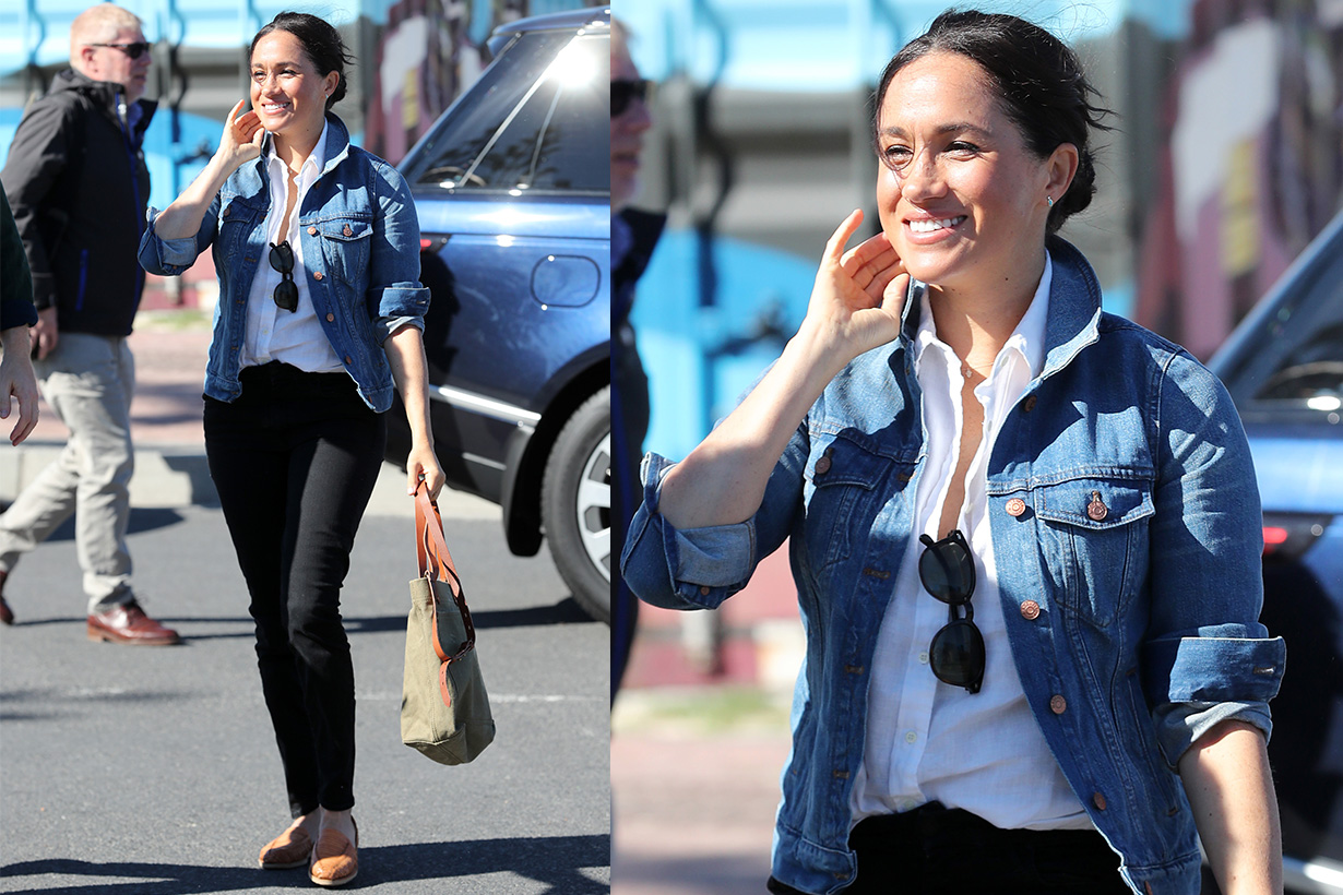 Meghan-Markle--denim