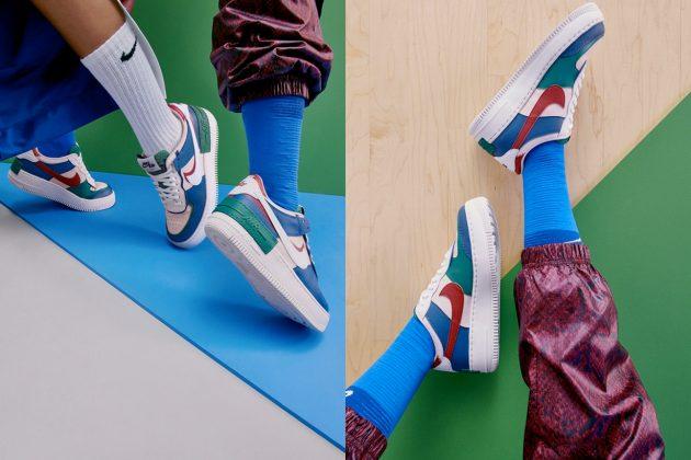 nike air force 1 sneakers shadow women