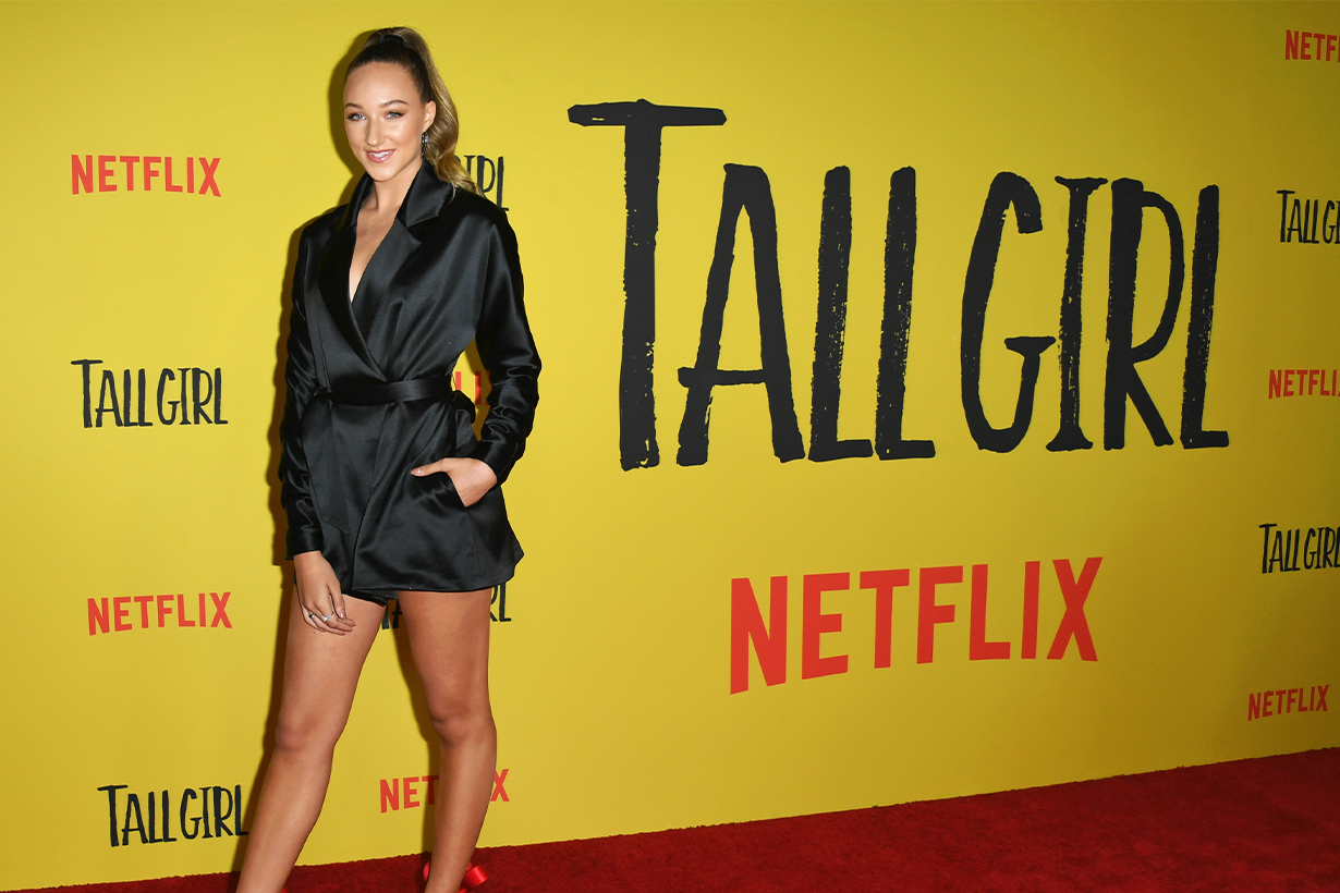 Netflix《Tall Girl》Ava Michelle Tall Height Dance Moms Dancer Actresses Rejected casting Lady Gaga bullied Rihanna Meryl Streep