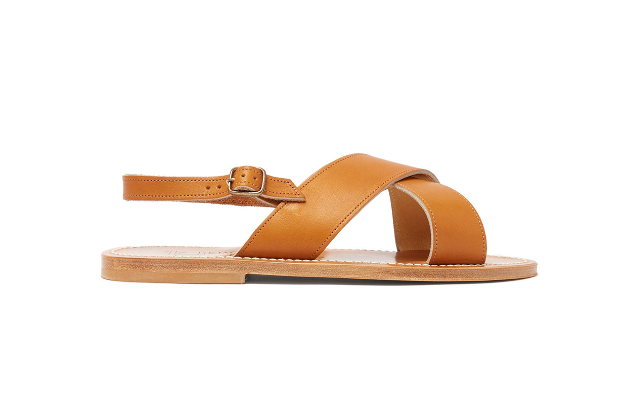 Osorno Crossover Leather Sandals