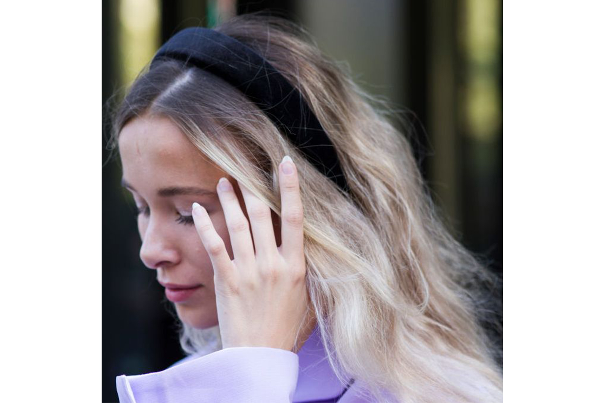 New York Fashion Week 2019 Street Style Hair Accessories