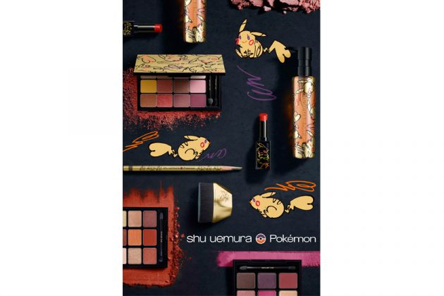 shu uemura Pokémon makeup limited collection japan 2019