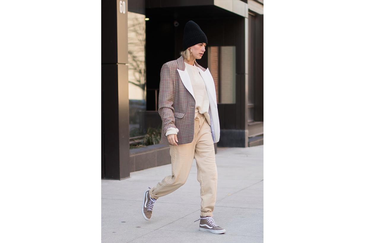 Hailey Bieber Wearing Vans Sneakers