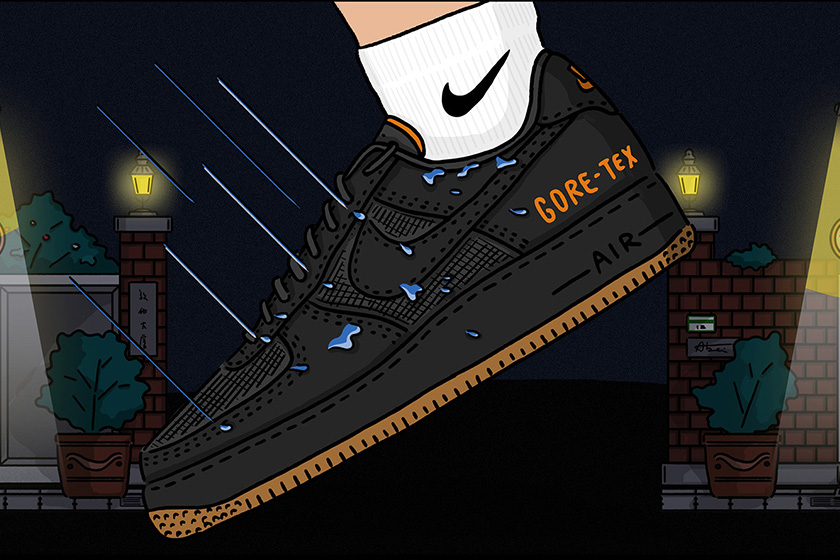 Nike Kicks Lounge East Game Air Force 1