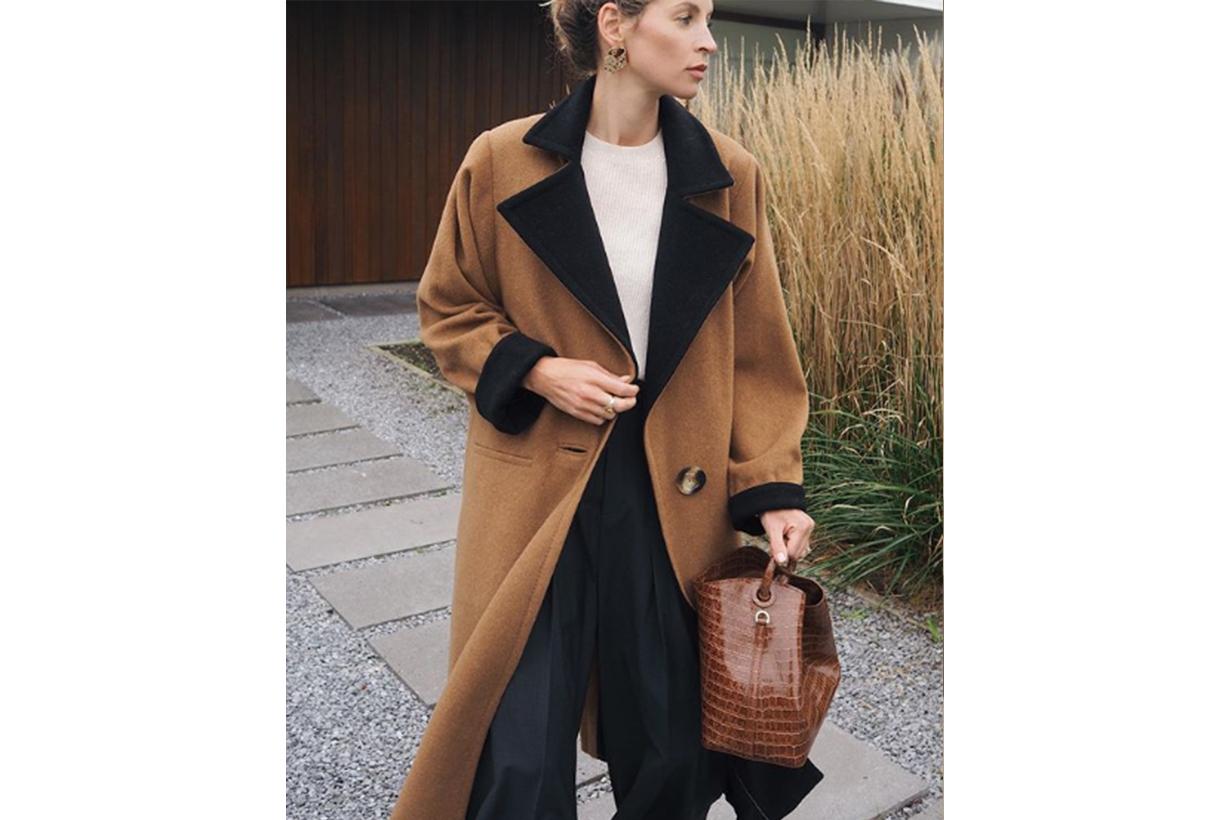 Fall Wool Coat Fashion Style