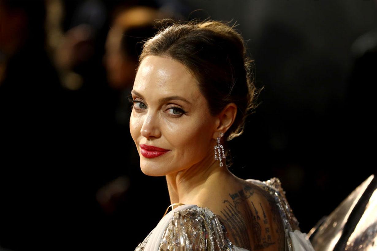 Angelina Jolie Red Carpet Look