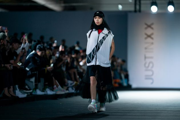 nike just in case runway show taipei fahsion week