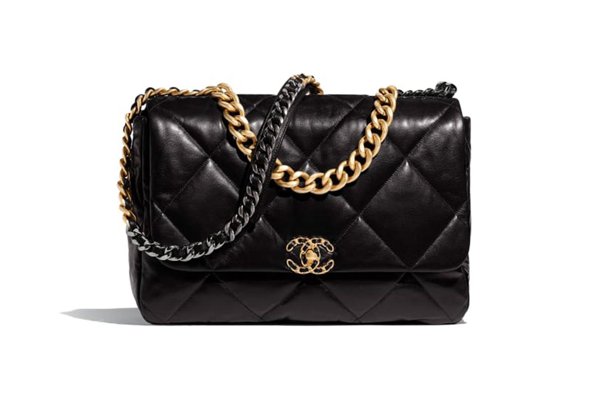chanel-19-maxi-flap-bag-HKD-43,000