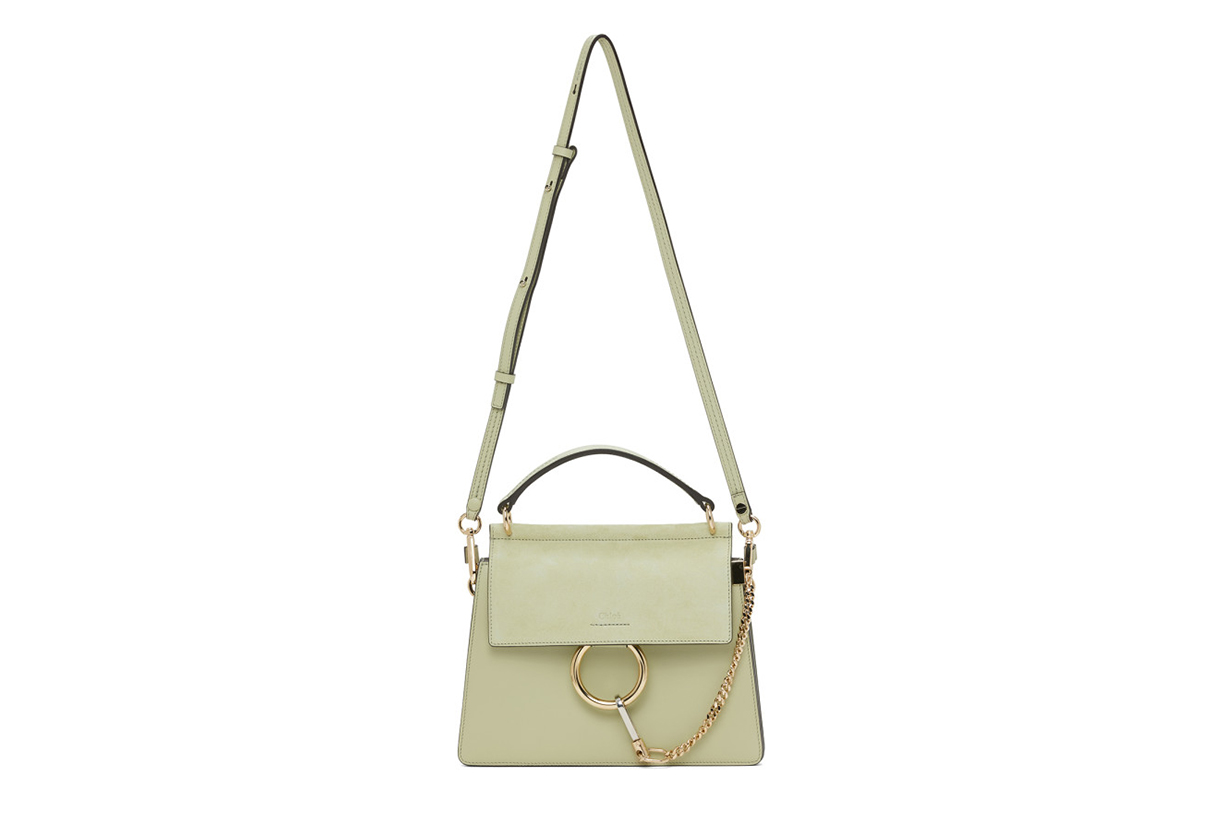Chloé Green Small Faye Bag