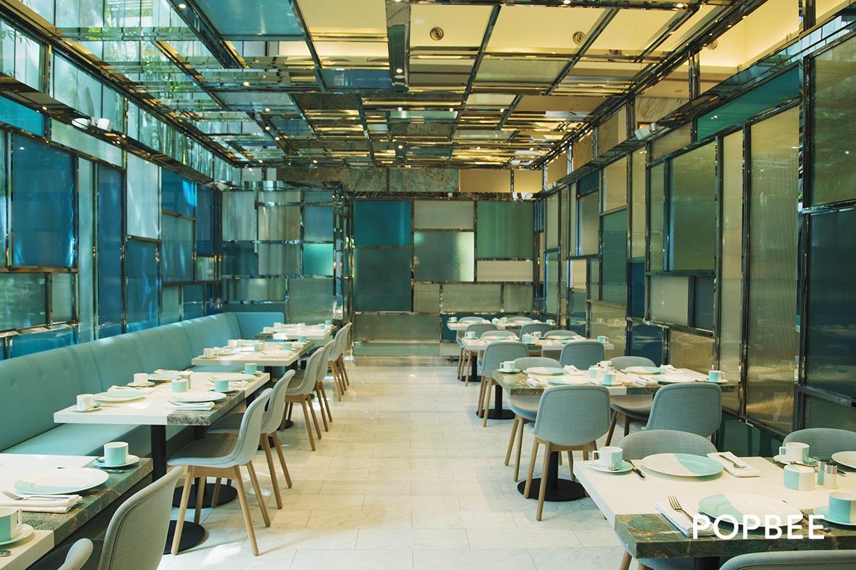 Tiffany Blue Box Cafe Hong Kong
