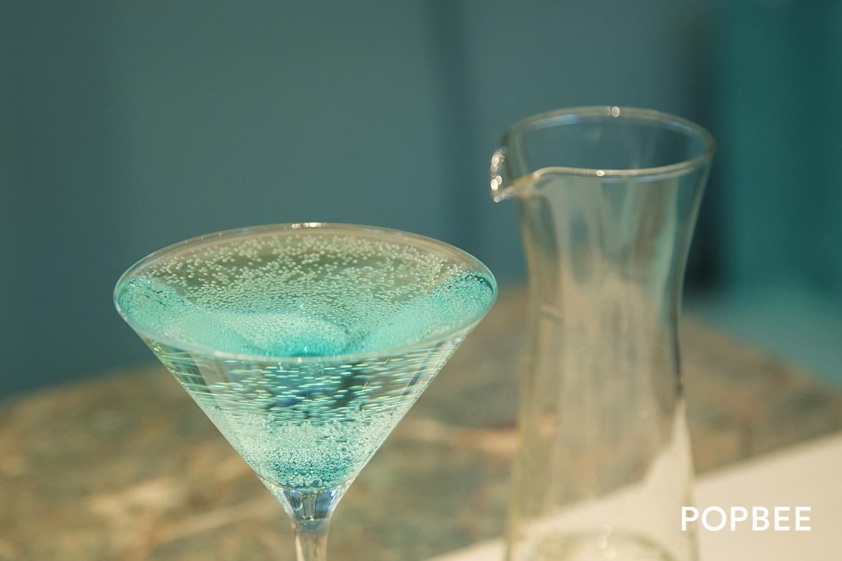Tiffany Blue Cocktail