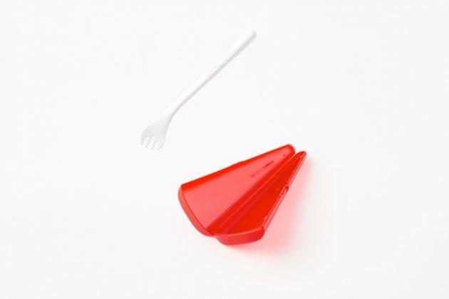 nissin nendo cup noodle fork design instant