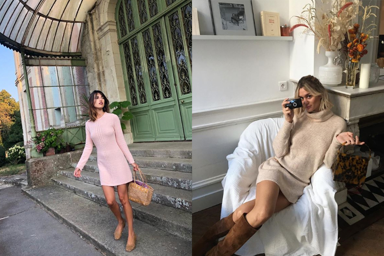 French Style Bloggers Mini Dresses