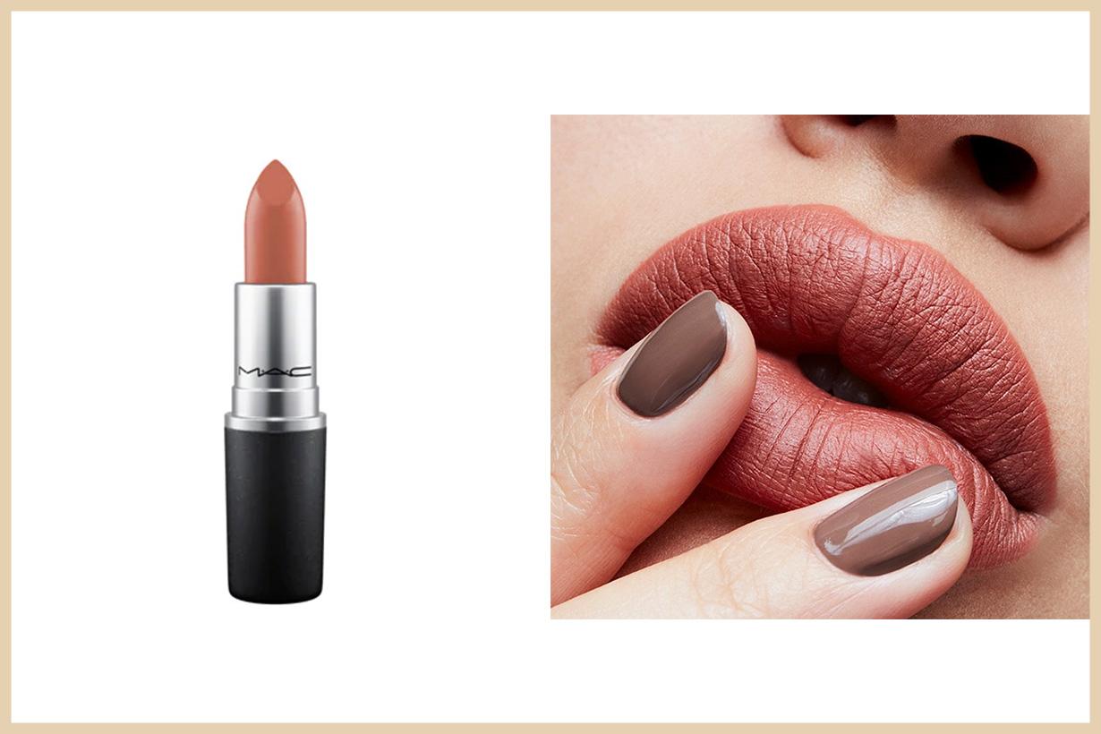 MAC經典啞光唇膏-暗棕紅色HKD160