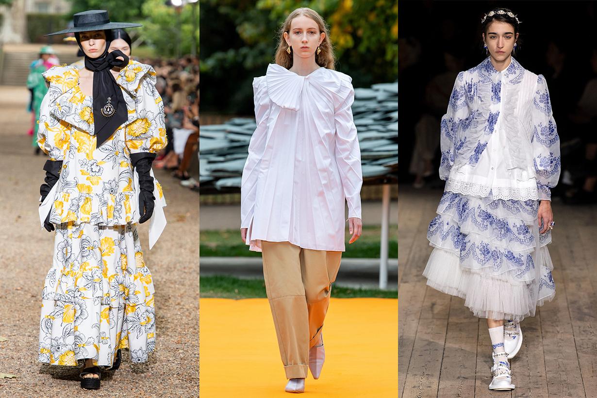 London Fashion Week Spring 2020 Runway