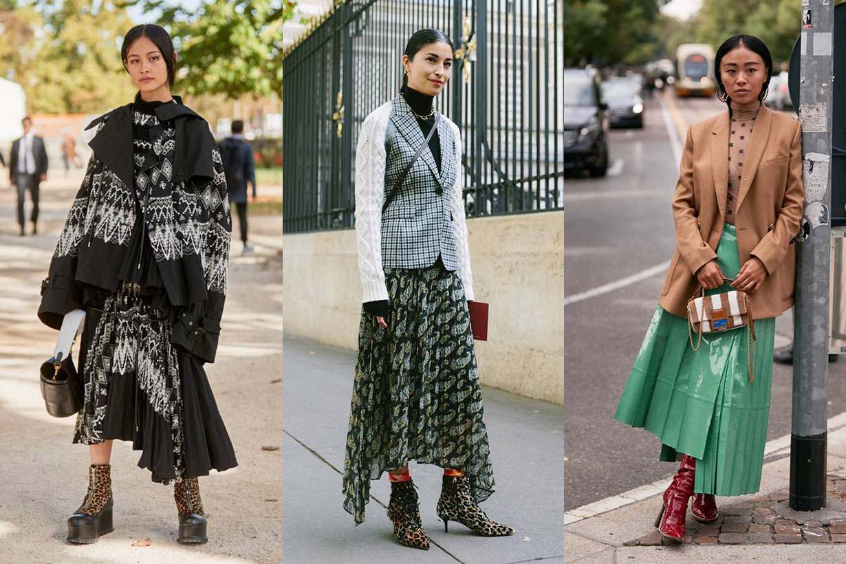 Pleated Skirt Outfit Ideas Street Style