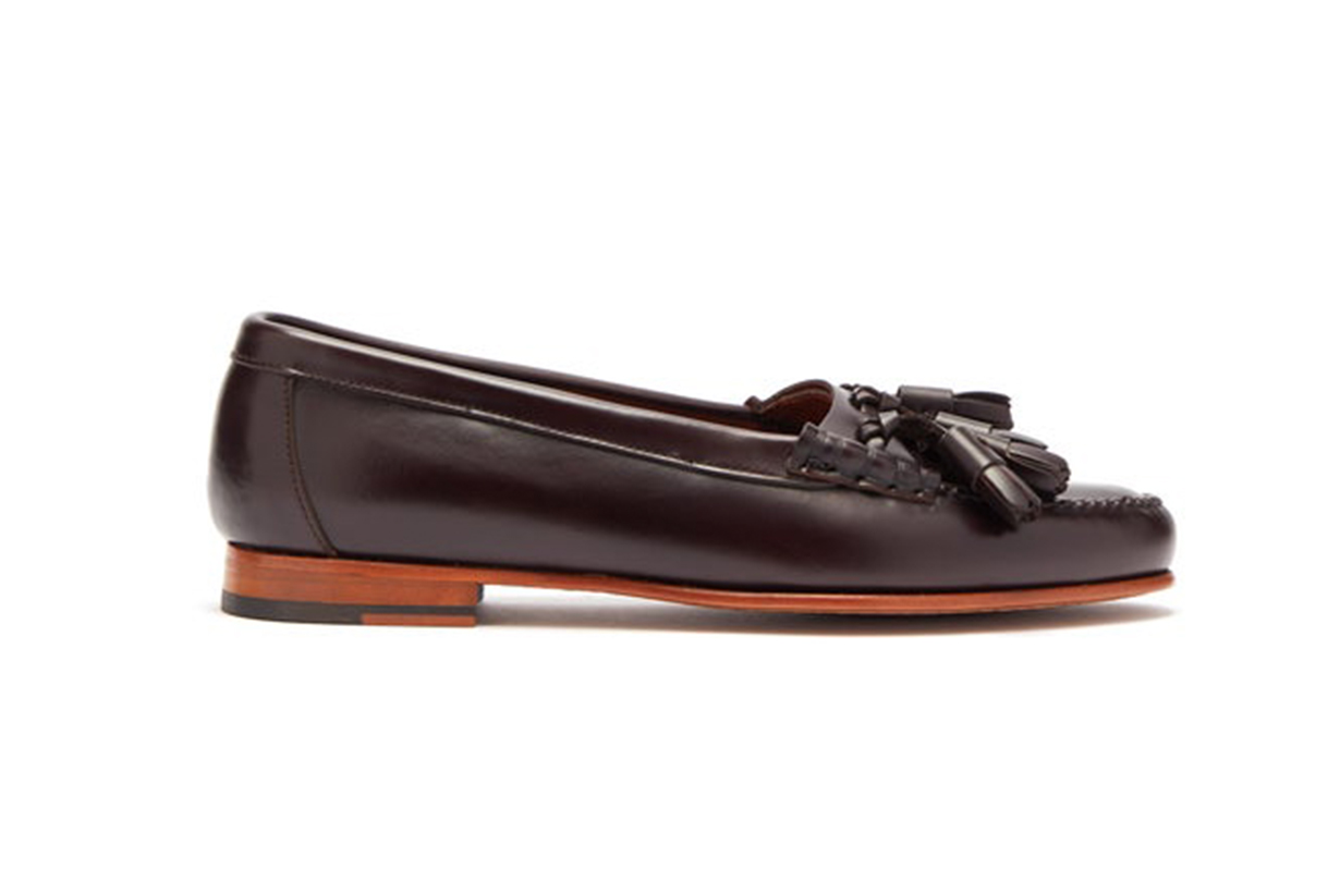 Sierre Tassel Leather Loafers