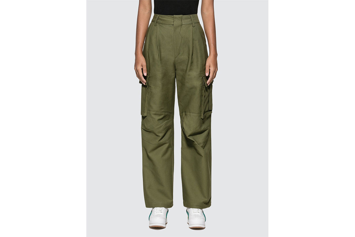 Wide Fit Cargo Pants