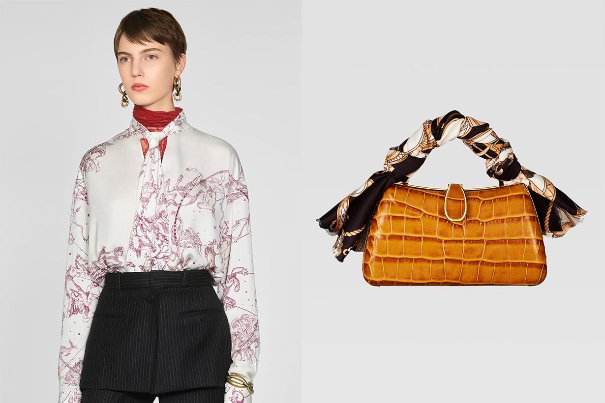 Zara Silk Items