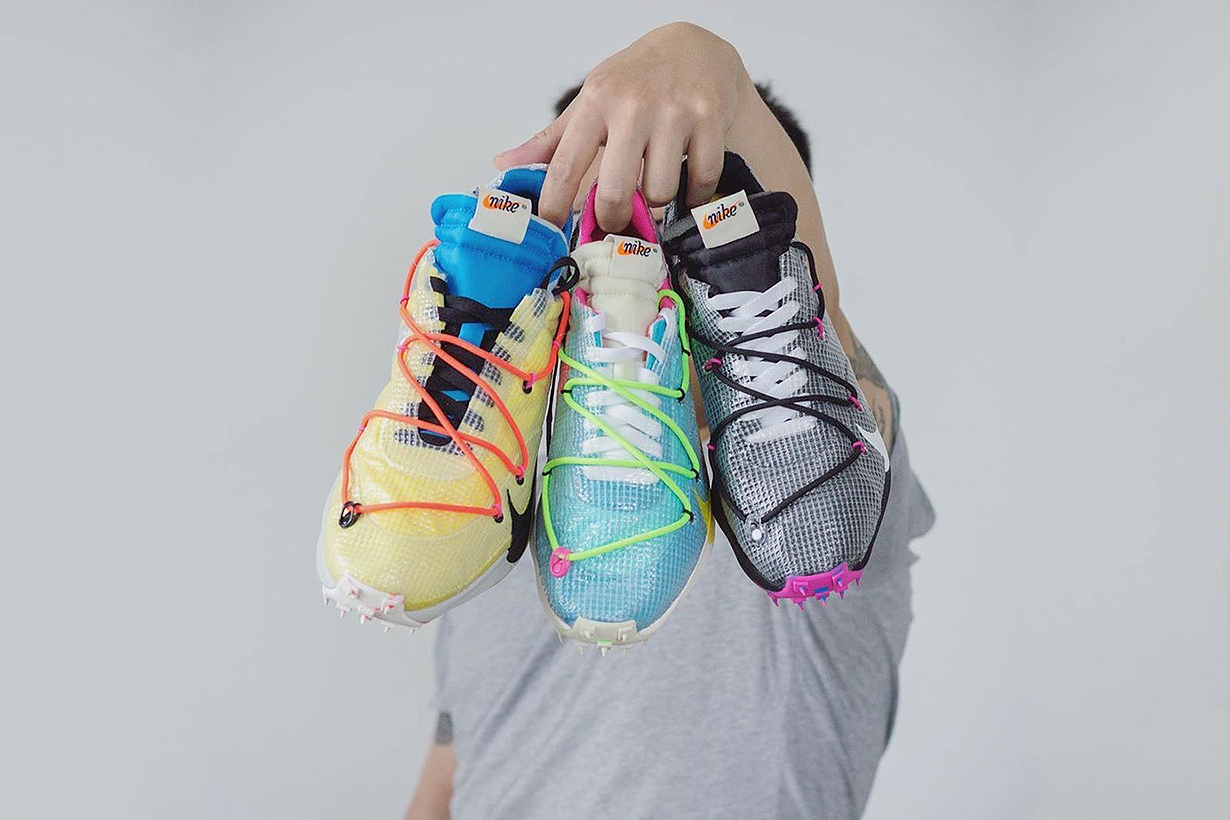 Virgil Abloh Nike x Off-White Vapor Street