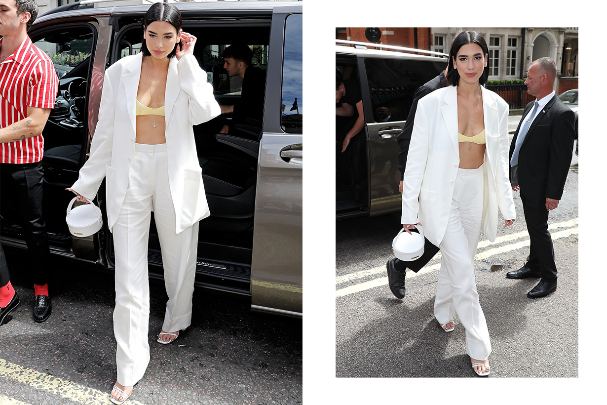 Dua Lipa Celebrities Style Idea