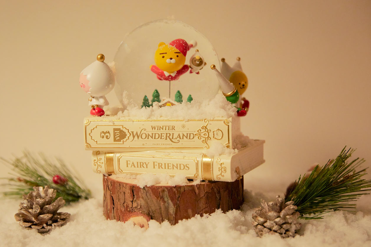 Kakao Friends Christmas collection WINTER WANDERLAND