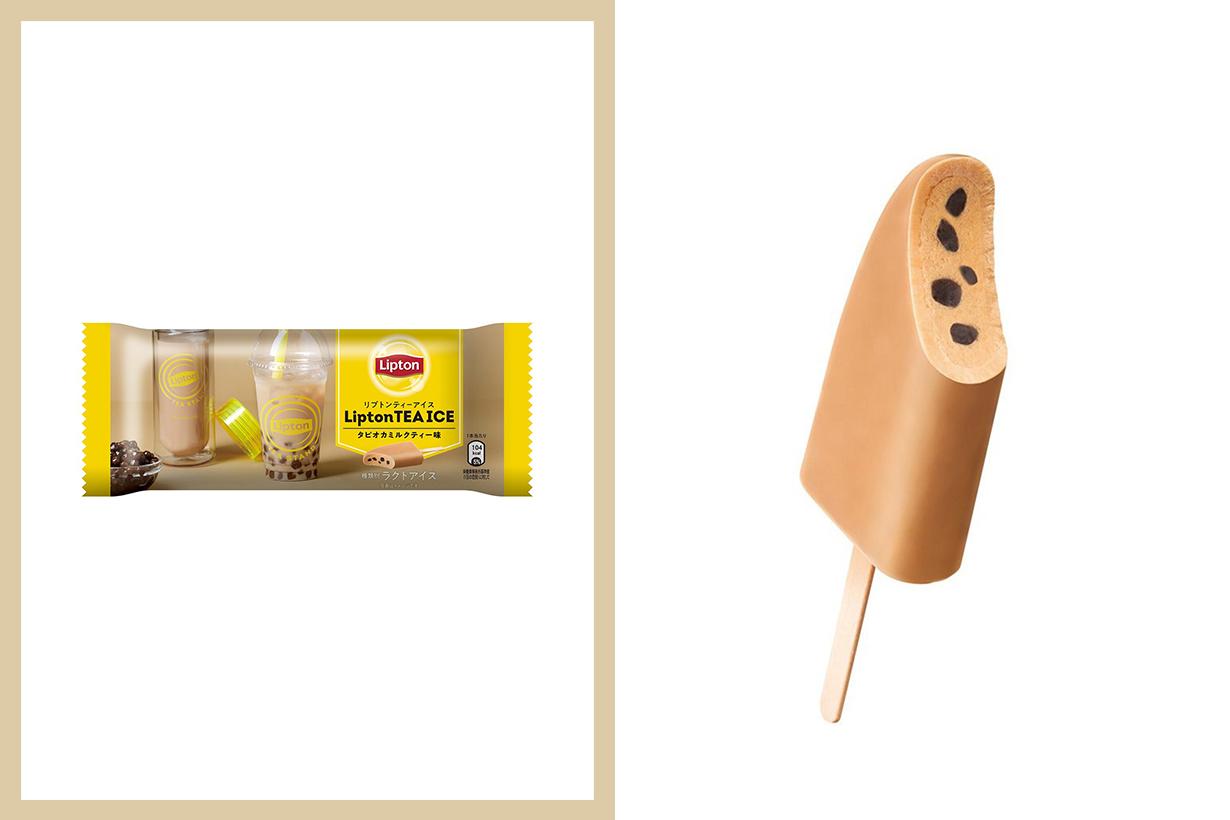 Lipton Ice Bubble Tea Tapioca Ice Cream