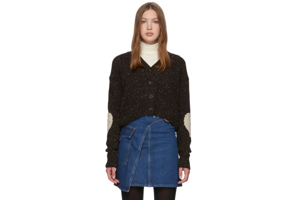 Alexachung Black Heart On Your Sleeve Cardigan