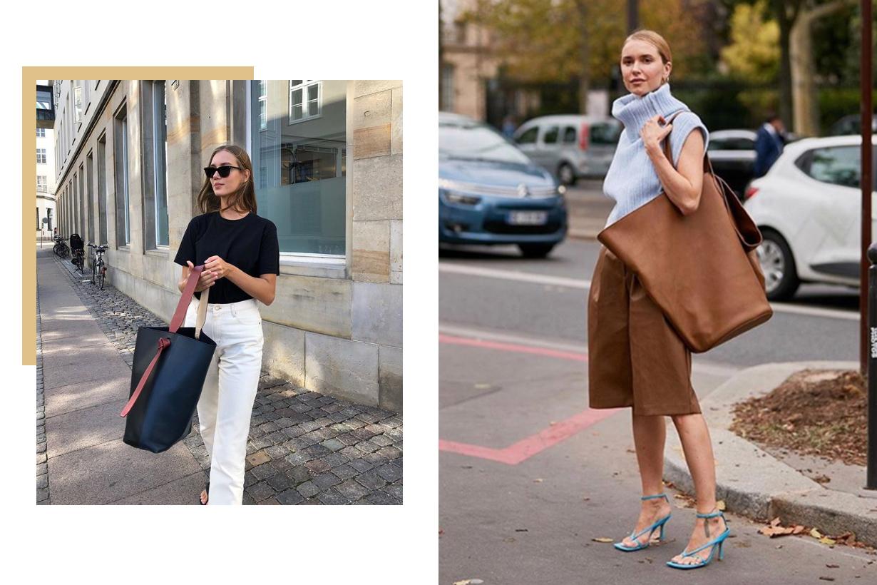 Oversized Bag Street Style