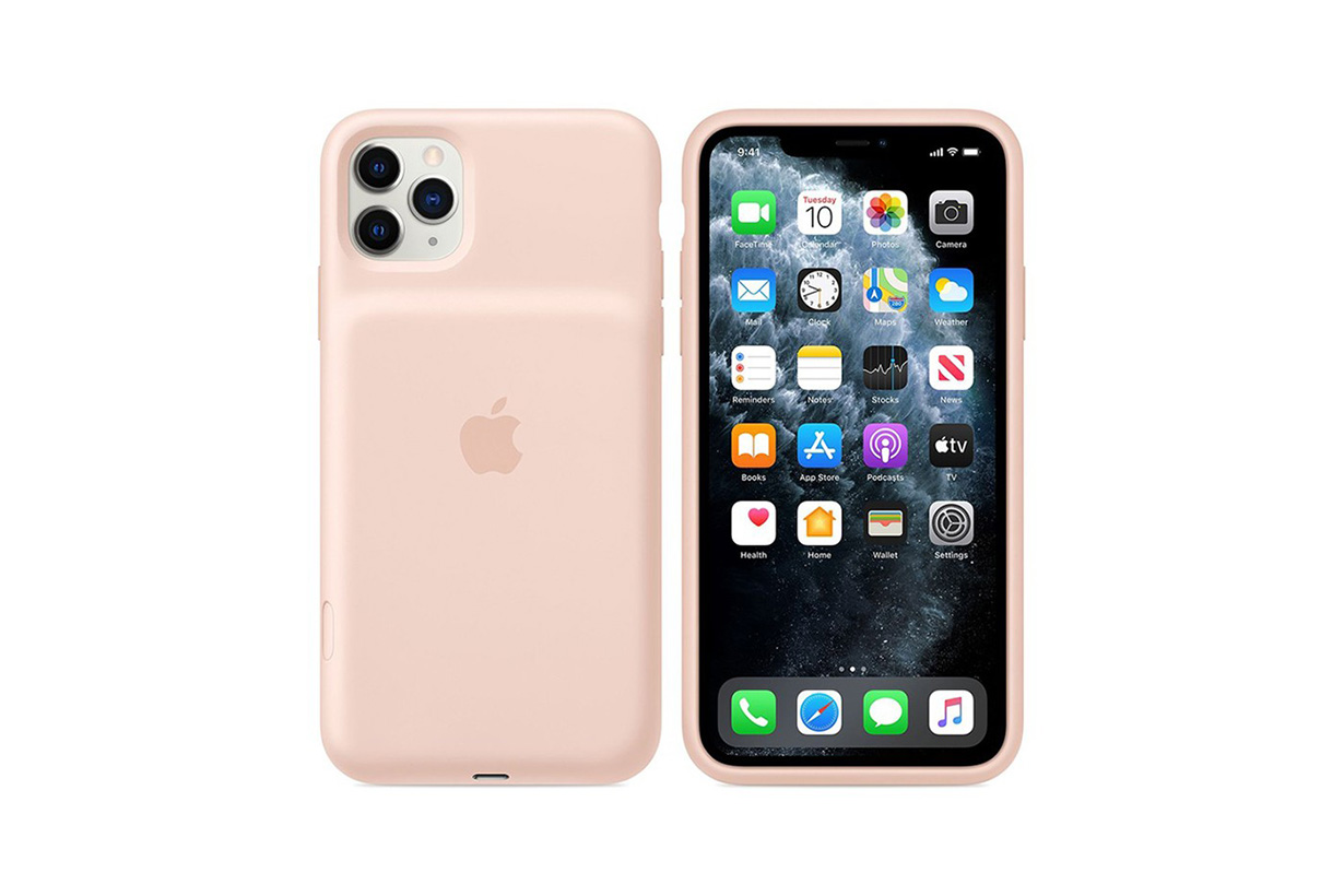 apple iphone 11 pro max smart battery case camera button black white pink release