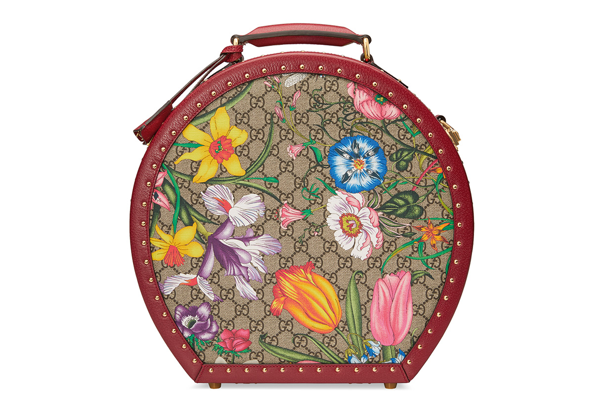 Gucci popup store Pin flora GIFT GIVING collective