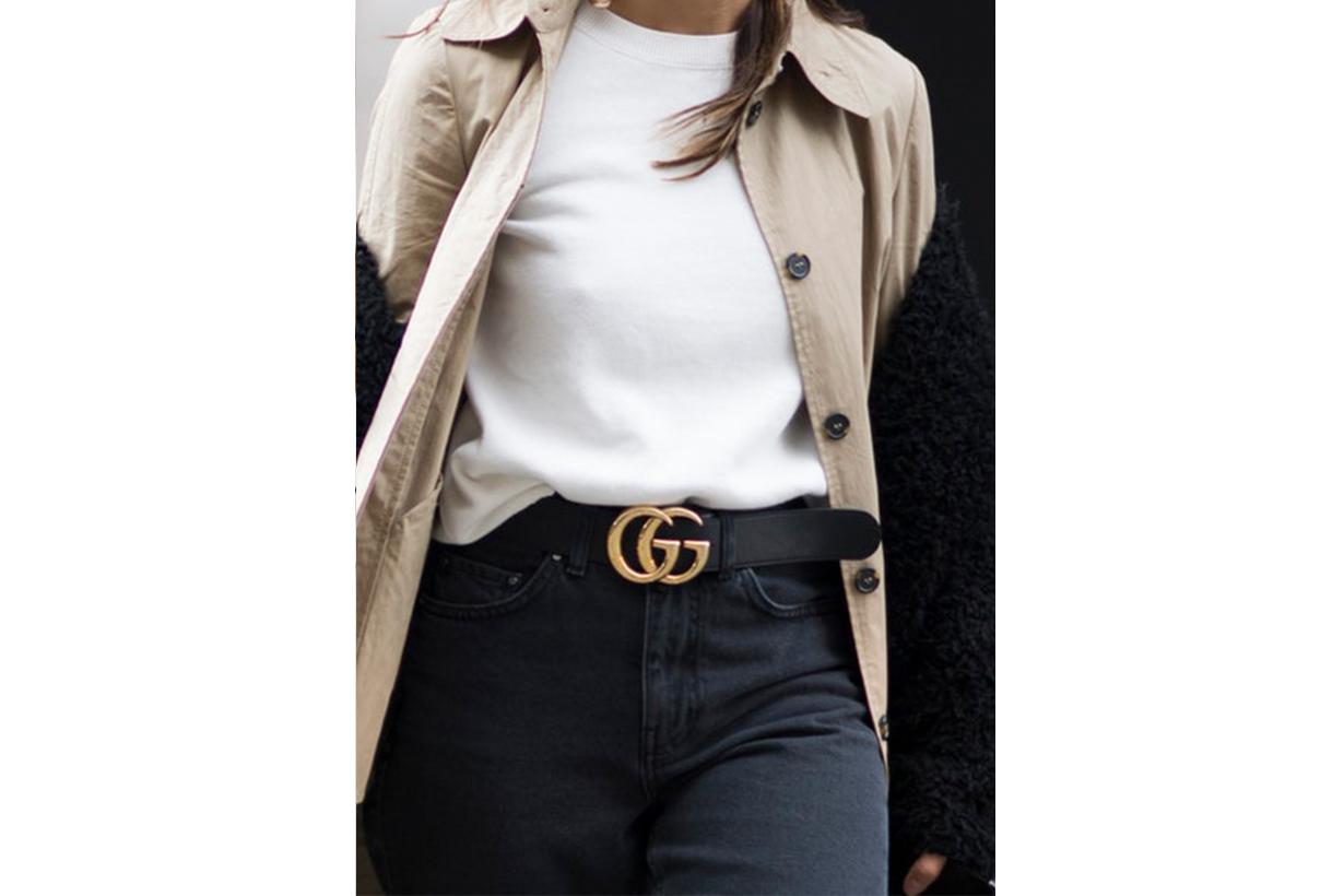 Gucci GG Logo Belt