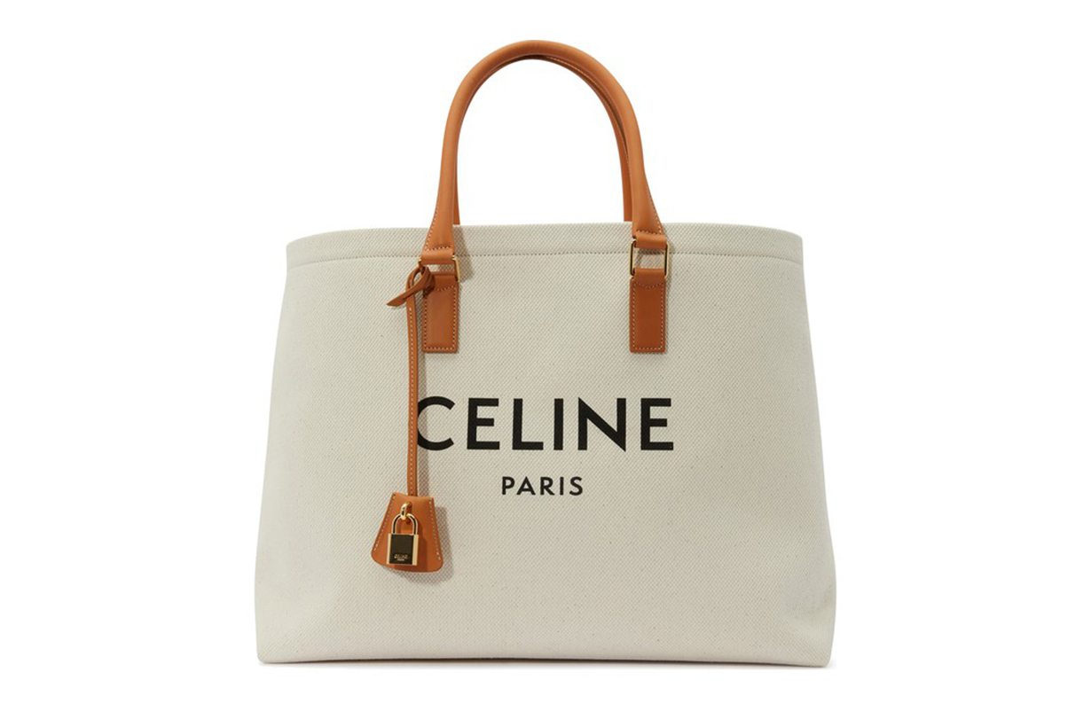 Horizontal Cabas Celine in Canvas