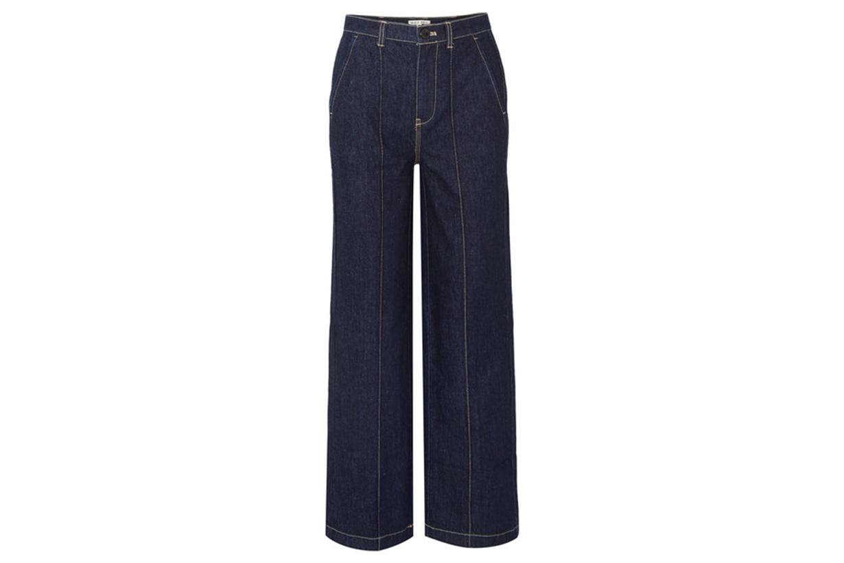 Jane Mid-rise Straight-leg Jeans