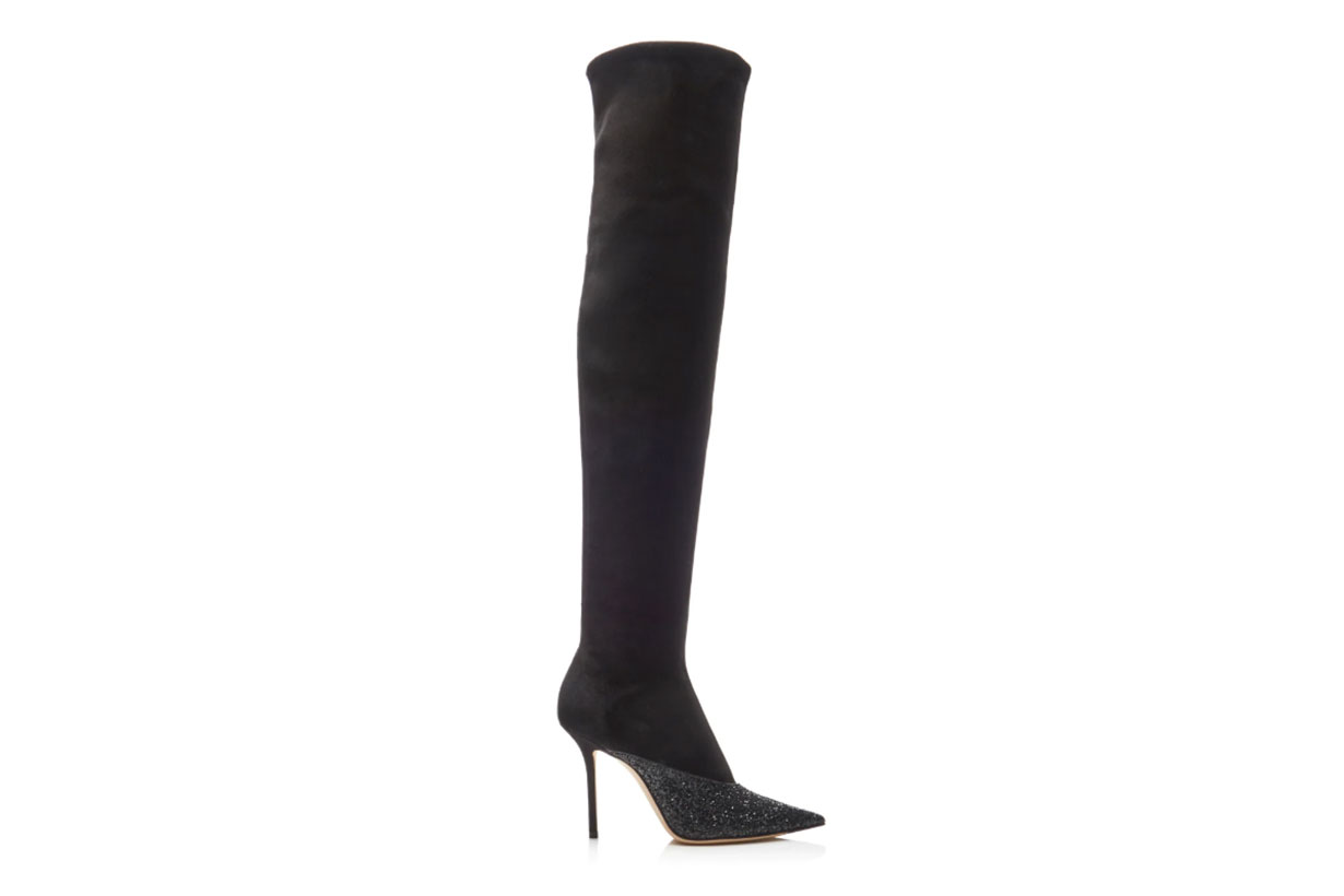 Jimmy Choo Moda Exclusive Brianda Glitter Over-The-Knee Boots