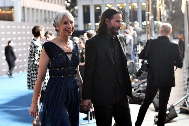 keanu reeves girlfriend dating Helen Mirren looks alike