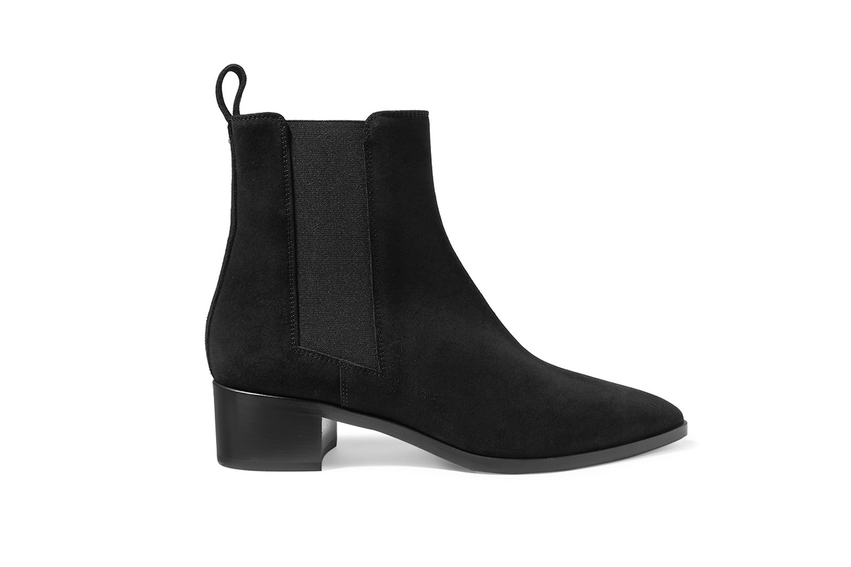 Lou Suede Ankle Boots